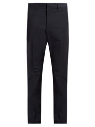 Jil Sander Slim Leg Tailored Trousers Navy