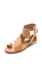 Rachel Zoe Poppie Sandals Dark Natural