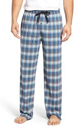 Tommy Bahama Men's Cotton Blend Lounge Pants Shore Plaid