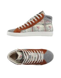 Springa Footwear High Tops And Trainers Men Brown