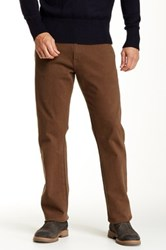 Agave Waterman Glove Touch Relaxed Cut Straight Leg Jean Brown