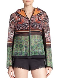 Clover Canyon Native Paisley Mesh Jacket Multicolor