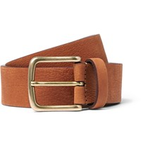 Andersons 3.5Cm Tan Leather Belt Brown