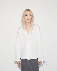 Jil Sander Bus Blouse White
