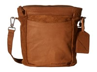 Cowboysbelt Eastleigh Chestnut Cross Body Handbags Brown