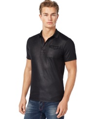 Guess Mason Polo Jet Black