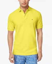 Tommy Hilfiger Men's Classic Fit Ivy Polo Limelight
