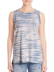 Current Elliott The Muscle Faded Tee Indigo Brush