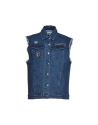 American Retro Denim Outerwear Blue