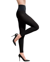 Commando 70 Denier Footless Tights Black Large