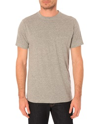 Menlook Label Allan Flecked Grey T Shirt