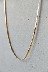 Mister Snake Chain Necklace Gold