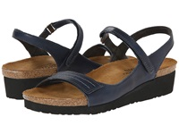Naot Footwear Madison Ink Leather Women's Shoes Blue