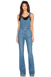 Paige Rialta High Rise Flare Overall Edgecliffe