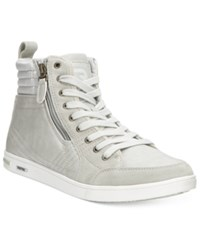 Kenneth Cole Reaction Men's Chain Mail Sneakers Men's Shoes Light Grey