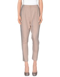 Please Trousers Casual Trousers Women Skin Color