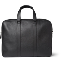 Montblanc Meisterstuck Full Grain Leather Briefcase Black