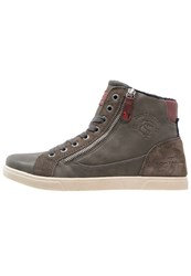 Tom Tailor Hightop Trainers Tar Grey