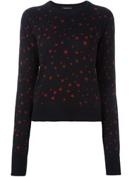 Equipment Star Pattern Jumper Black