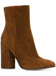 Gianvito Rossi 'Rolling High' Boots Brown