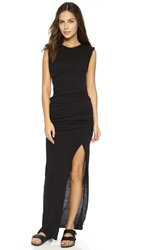 Pam And Gela Twisted Knit Maxi Dress