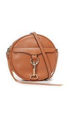 Rebecca Minkoff Mac Circle Cross Body Bag Almond