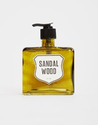Men's Society Liquid Hand Soap Sandal Wood Green
