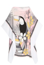 Paul And Joe Toucan Kaftan Pink