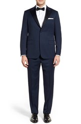 Men's Hickey Freeman 'Tailor's Gold' Classic Fit Wool Tuxedo
