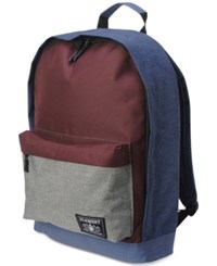Element Men's Beyond Elite Colorblocked Backpack Blue Red