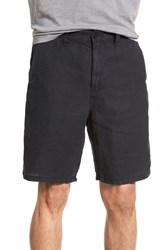 Men's John Varvatos Star Usa Linen Shorts Black