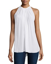 Ramy Brook Paris Halter Neck Top Ivory