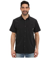Columbia Slack Tide Camp Shirt Black Men's Short Sleeve Button Up