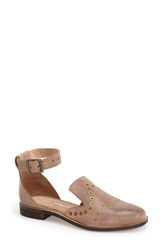 Free People 'Castoni' Ankle Strap Loafer Women Tobacco Leather