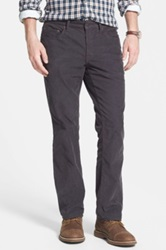 Bonobos Straight Leg Five Pocket Corduroy Pants Black