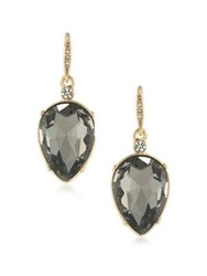 Abs By Allen Schwartz Grey Gardens Crystal Drop Earrings