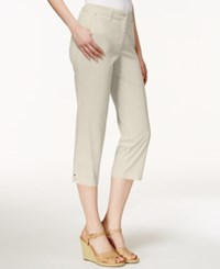Charter Club Cropped Twill Pants Only At Macy's Sand