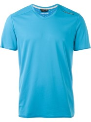 Adidas 'Porsche Design Sports' T Shirt Blue