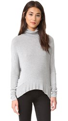 Bobi Turtleneck Sweater Grey