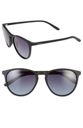 Women's Polaroid Eyewear 54Mm Polarized Sunglasses Black Gradient Polarized
