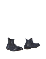 Moma Ankle Boots Slate Blue