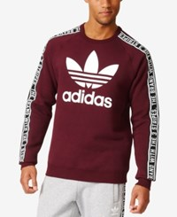Adidas Men's Originals Essentials Sweatshirt Maroon