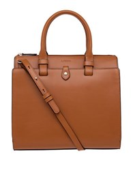 Lodis Audrey Linda Medium Satchel Toffee