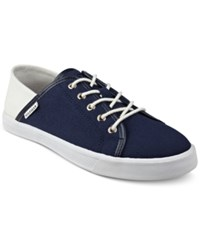 Tommy Hilfiger Flip Lace Up Sneakers Women's Shoes Navy