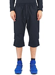 Y 3 Long Jet Shorts Black