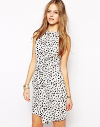 Supertrash Diante Dress In Splash Print Splashprint