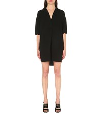 Whistles Lola Woven Shirt Dress Black