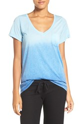 Make Model Women's 'Gotta Have It' V Neck Tee Blue Ombre