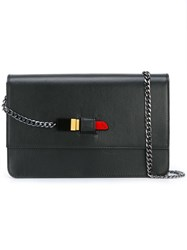 Yazbukey 'Sealed With A Lipstick' Crossbody Bag Black