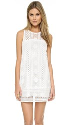 Cupcakes And Cashmere Luka Lace Dress Ivory
